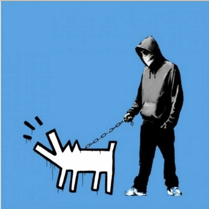 Banksy, Choose your Weapon, 2010