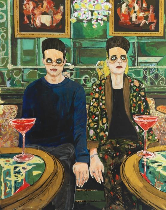 Hernan Bas, Red Cocktails