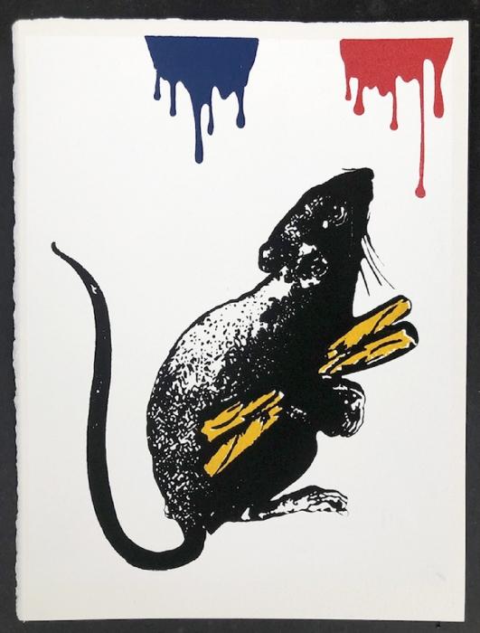 Blek le Rat, Rat No. 5, 2019