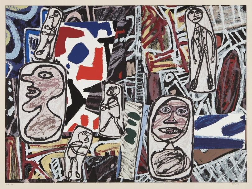 Jean Dubuffet, Faits mémorables, 1978