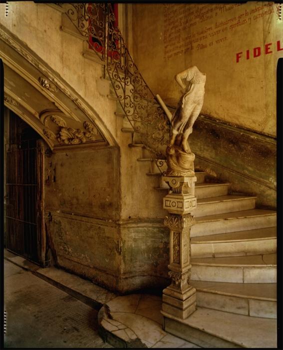 Michael Eastman, Cuba Stairway