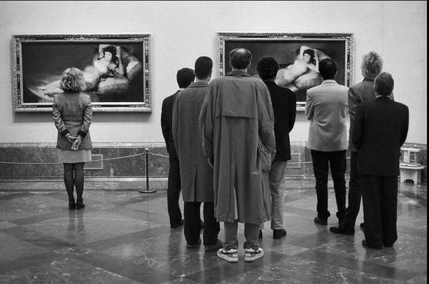 Elliott Erwitt, Prado Museum