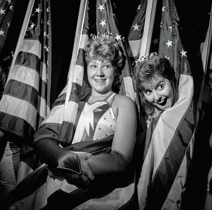 Larry Fink, Patriotism