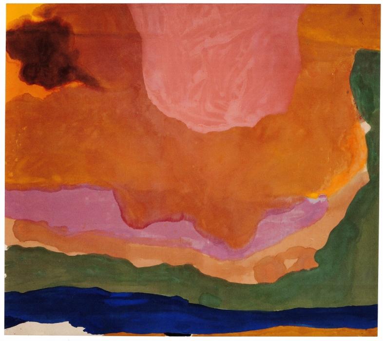 Helen Frankenthaler, Ode to Provincetown