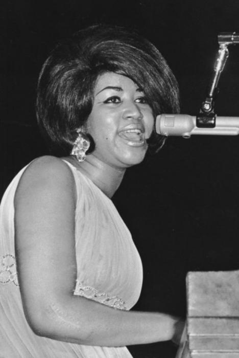 Ron Galella, Aretha Franklin