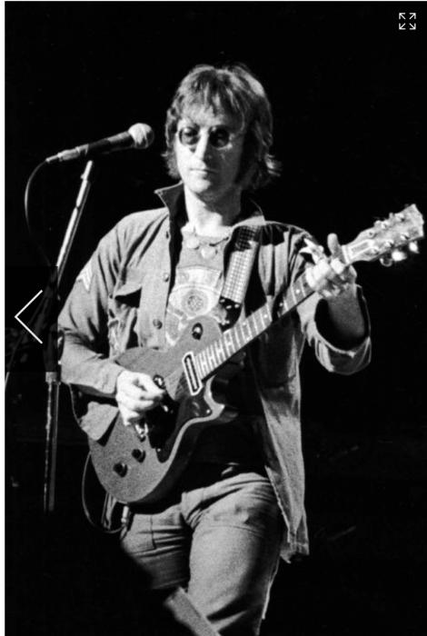 Ron Galella, John Lennon