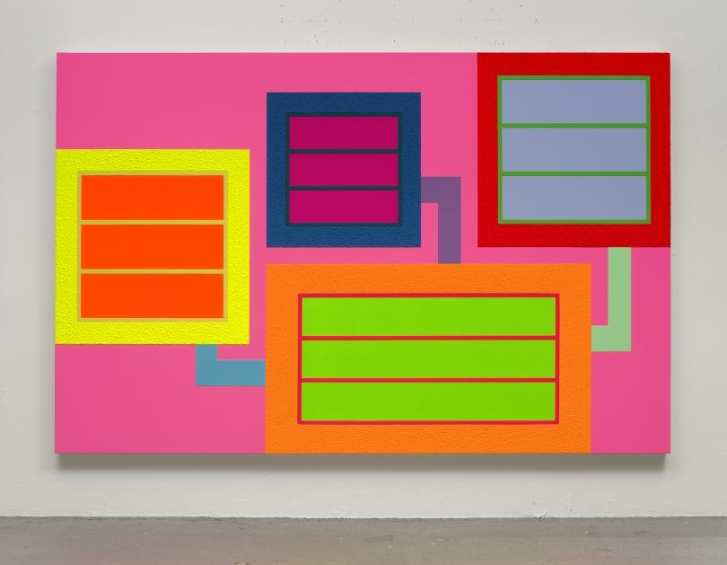 Peter Halley, Geometric Painting