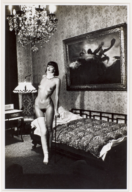 Helmut Newton, Jenny Kapitan Pension Dorian Berlin, 1977