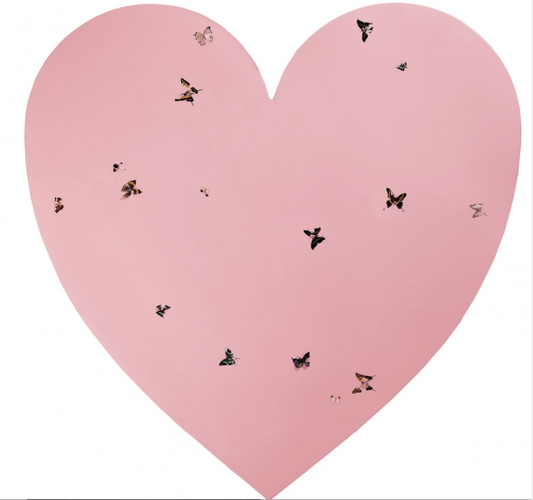 Damien Hirst, Untitled Butterfly Heart