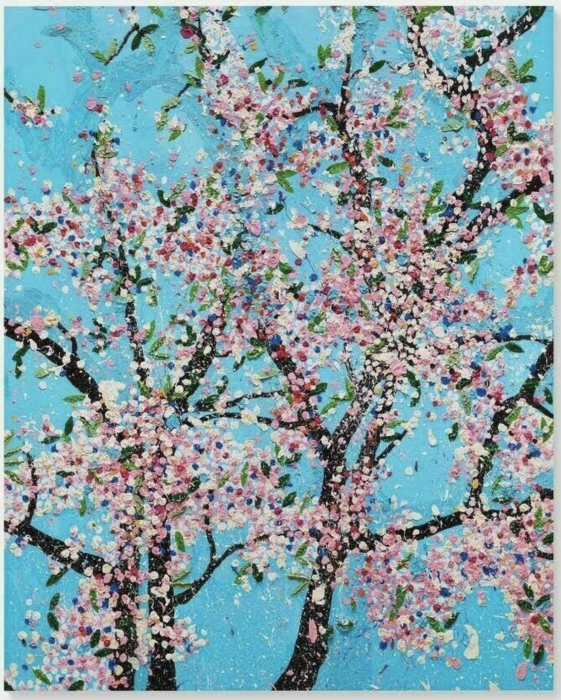 David Hockney, Politeness, from The Virtues, 2021
