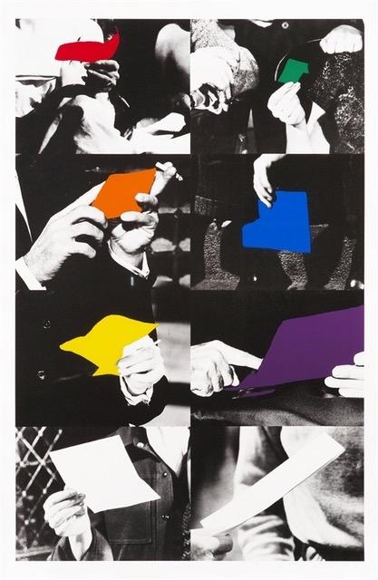 John Baldessari, Two Unfinished Letters, 1996