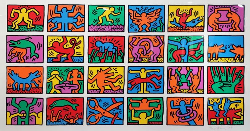 Keith Haring, Mural