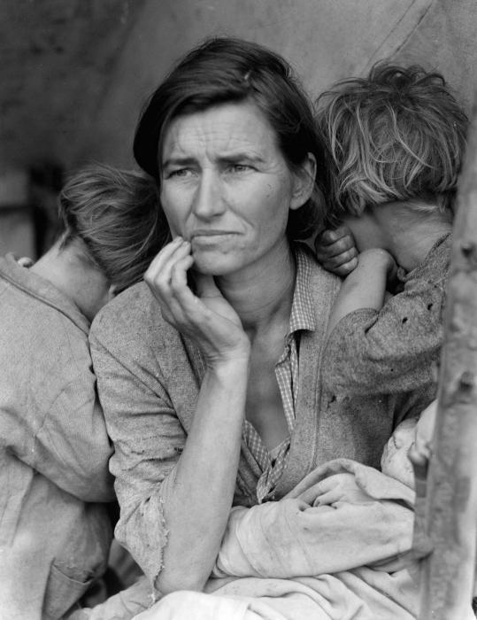 Dorothea Lange, Migrant Mom