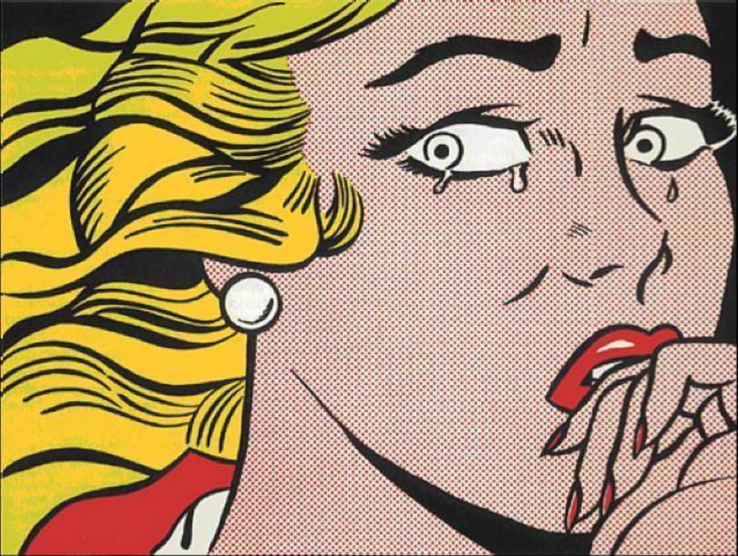 Roy Lichtenstein, Crying Girl, 1963