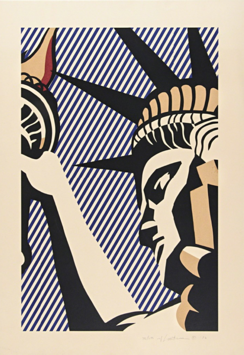 Roy Lichtenstein, I Love Liberty, 1982