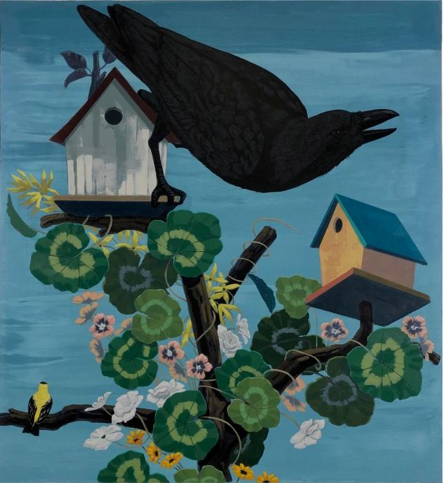 Kerry James Marshall, Black Birds Take Flight