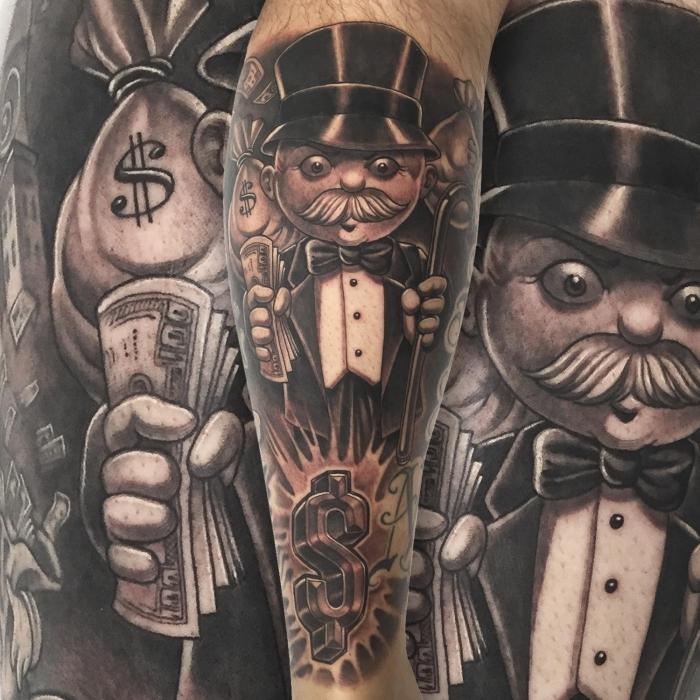 Mr Cartoon, Tattoo