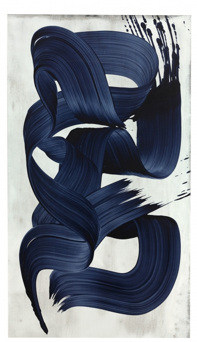 James Nares, Take 118 Blue Black