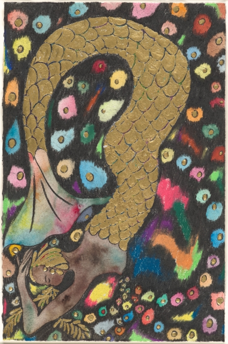 Chris Ofili, Gold Mermaid