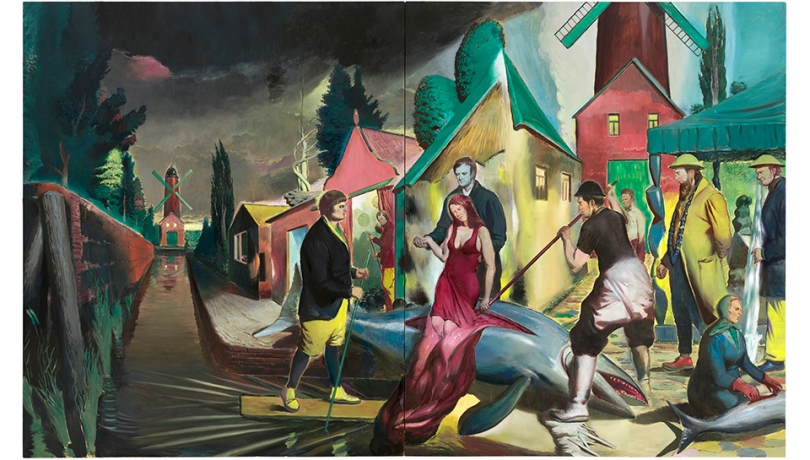 Neo Rauch, Gutting Fish