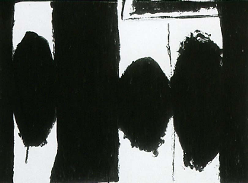 Robert Motherwell, Spanish Elegy