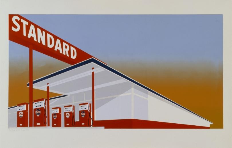 Ed Ruscha, Gas Station