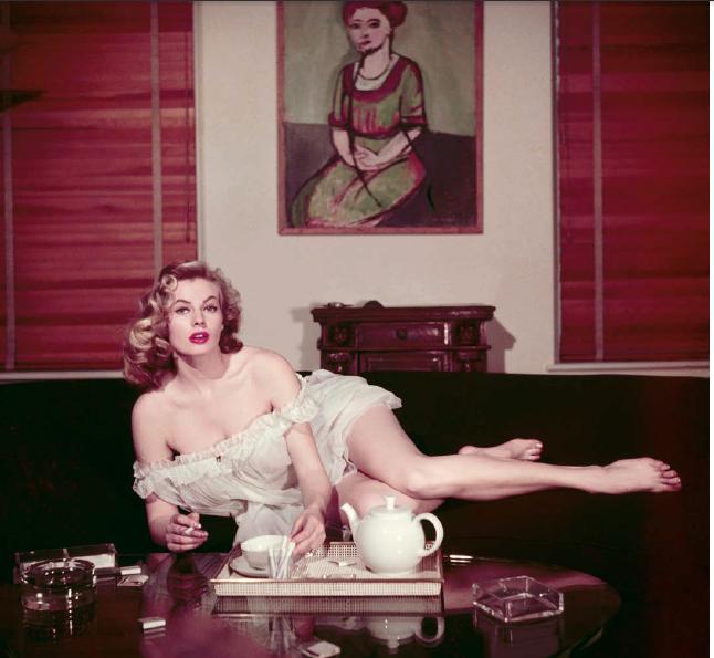 Ormond Gigli, Anita Ekberg, NY 1954