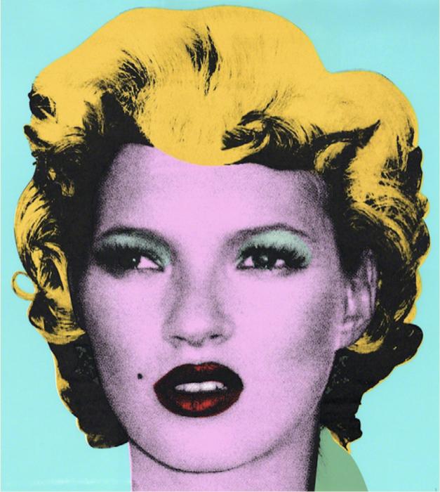 Banksy, Kate Moss, 2005