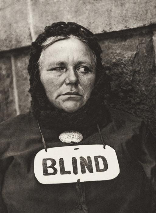 Paul Strand, Blind