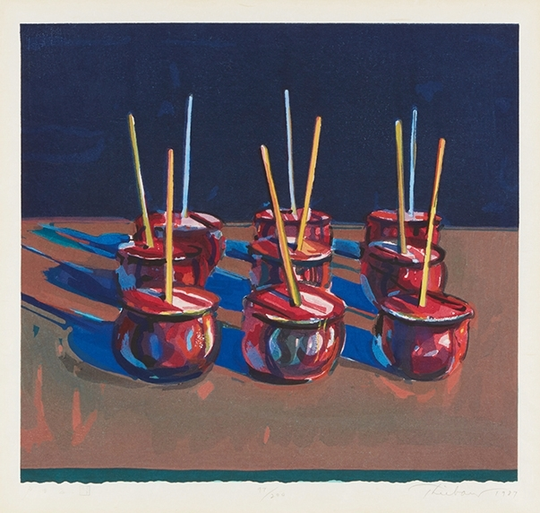 Wayne Thiebaud, Jelly Apples