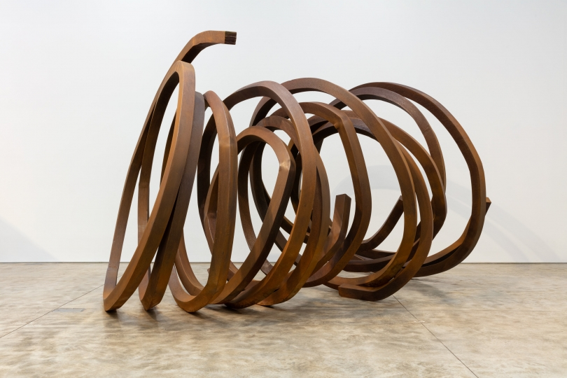 Bernar Venet, Three Intermediate Lines