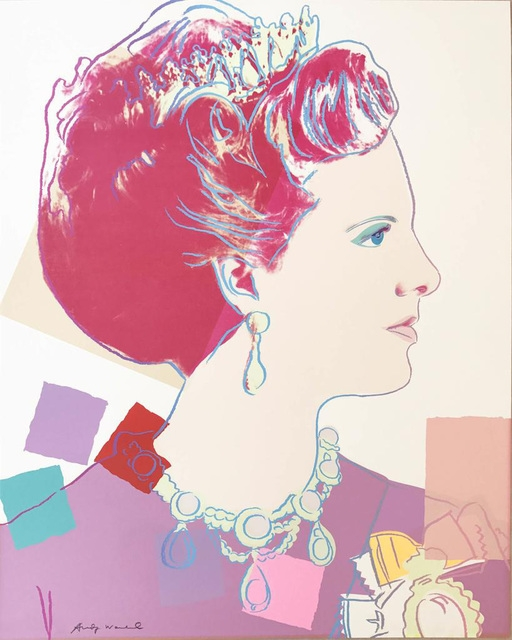 Andy Warhol, Reining Queens (Royal Edition): Queen Margrethe II of Denmark, 1985