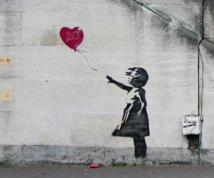 Banksy, Girl with Balloon, 2002