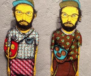 Os Gemeos, Graffiti Portrait