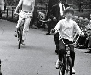 Ron Galella, Jackie Kennedy and John Kennedy, Jr
