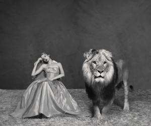 Tyler Shields, The Lady and The Lion, 2019